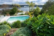 Clontarf pool landscaping and garden design by Bell Landscapes, Sydney