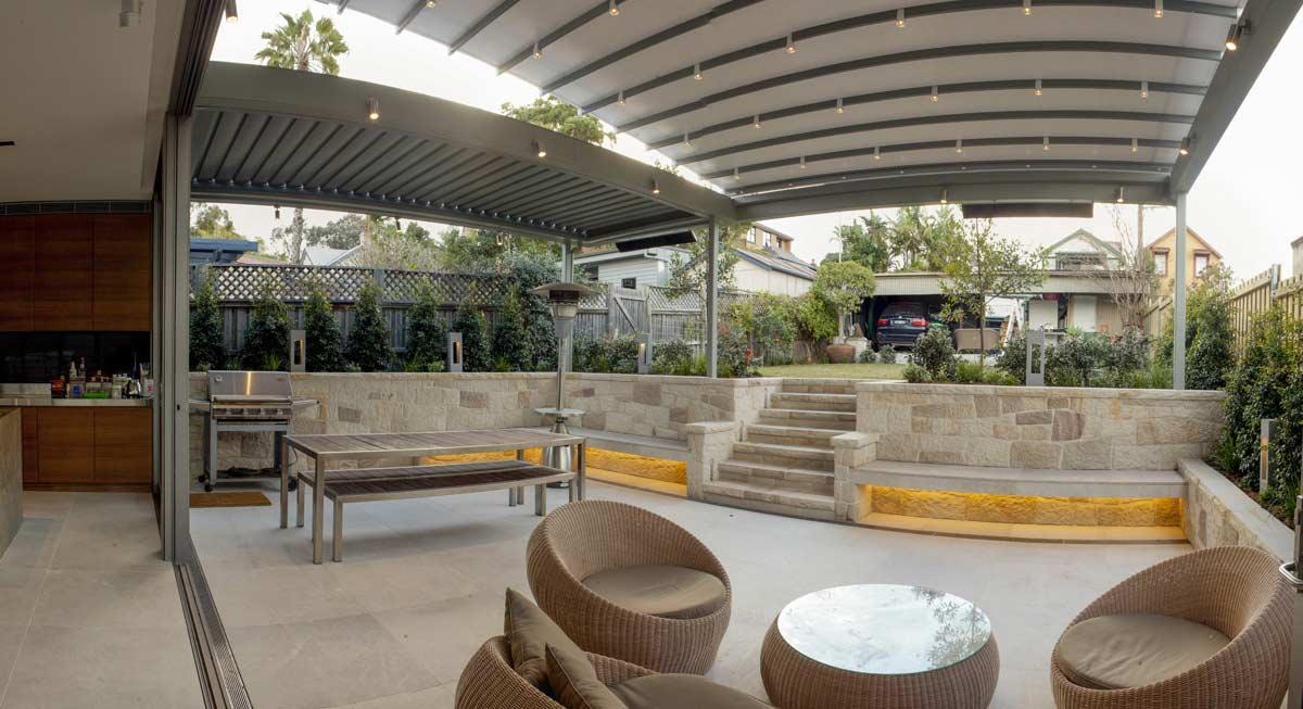 East Balmain landscape and garden design by Bell Landscapes, Sydney