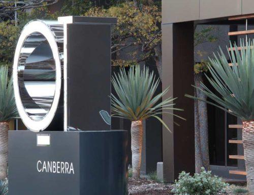 QT Canberra – Hotel Garden design