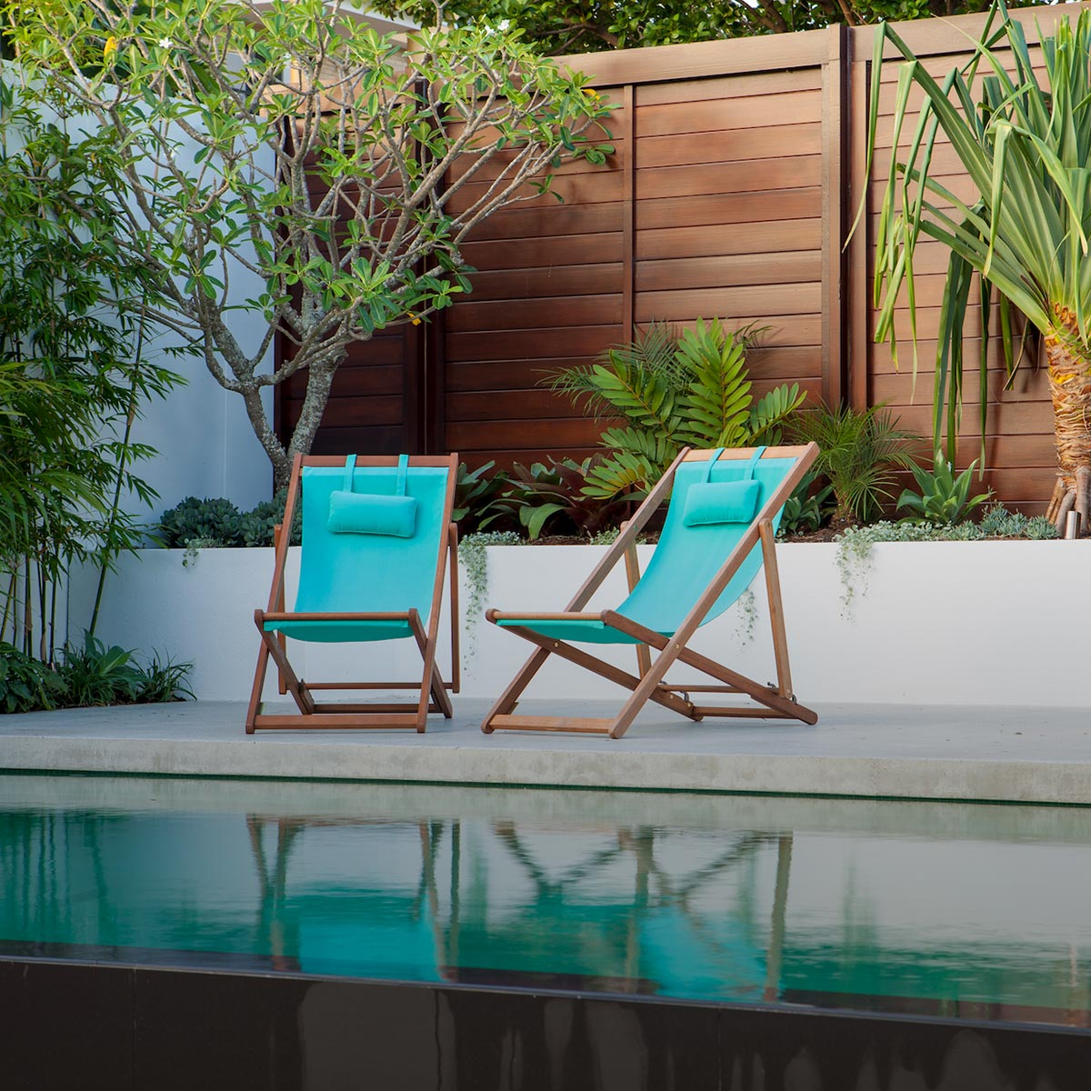 Birchgrove landscaping and pool garden design by Bell Landscapes, Sydney