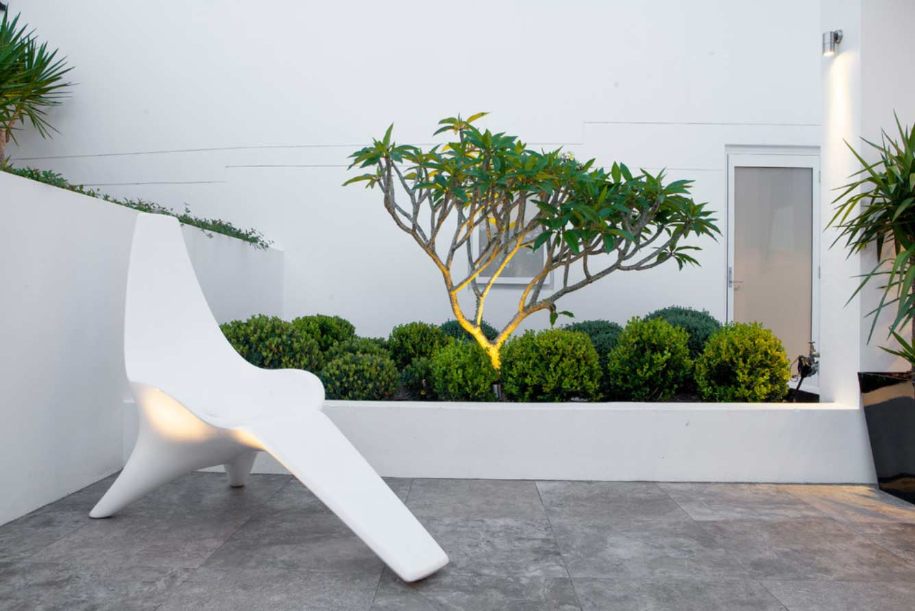 Vaucluse Waterfront garden design and landscaping by Bell Landscapes, Sydney