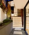 East Balmain waterfront landscaping design by Bell Landscapes, Sydney.