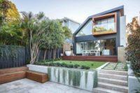 Rozelle pool landscape design by Bell Landscapes, Sydney