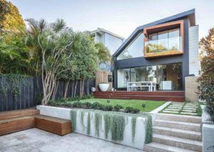 Rozelle pool landscape design by Bell Landscapes, Sydney