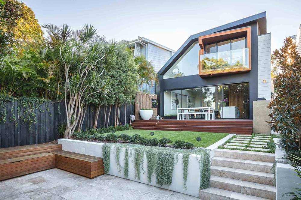 Rozelle landscaping design by Bell Landscapes, Sydney