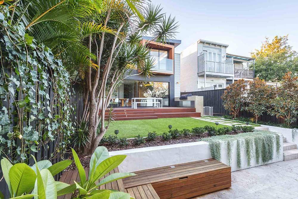 Rozelle landscaping design by Bell Landscapes, Sydney