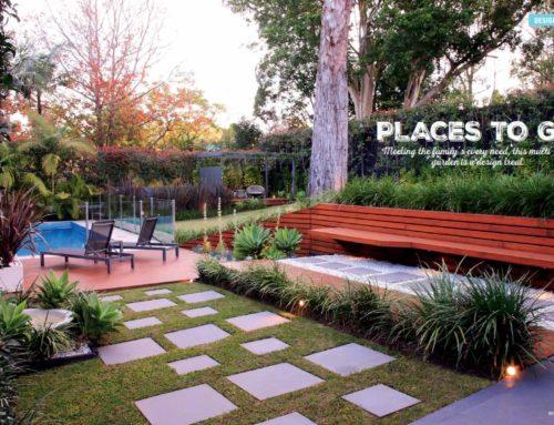 Pymble Backyard in Decks, Pergolas & Patios magazine