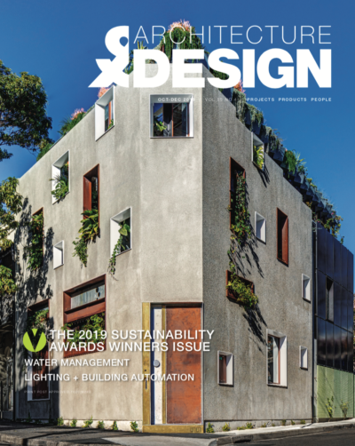 A external shot of the Jungle House, winner of the 2019 Sustainability Award